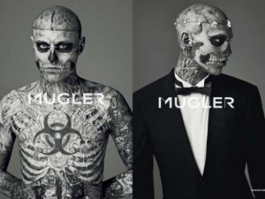 Mugler wants men to be zombies.