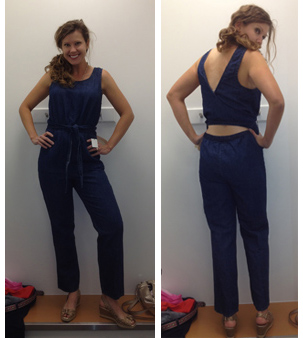 Semi-backless jumpsuit from Gap is hideous.