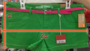Mathematical formula applied to short shorts on humor blog