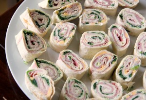 Tortilla pinwheels are disgusting and full of stuff that should not go together, like Joyful Noise.