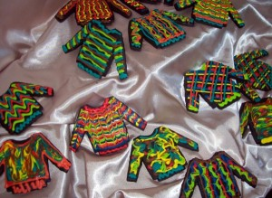 Bill Cosby sweater cookies